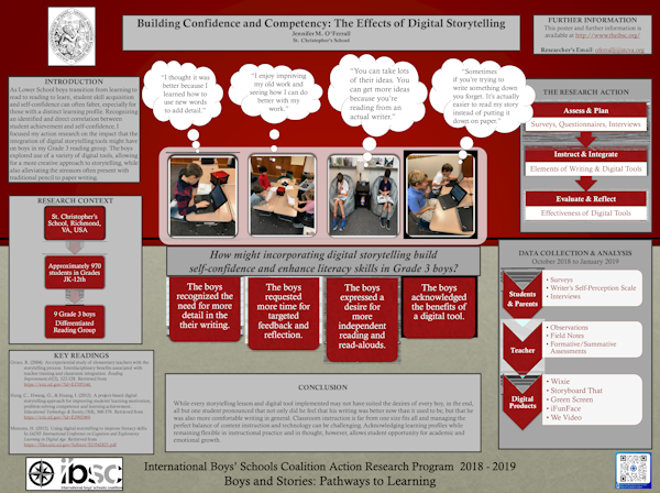 Building Confidence and Competency in Grade 3 Boys: The Effects of Digital Storytelling